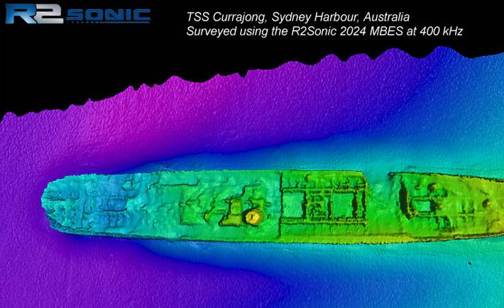 TSS Currajong on Sydney Harbour
