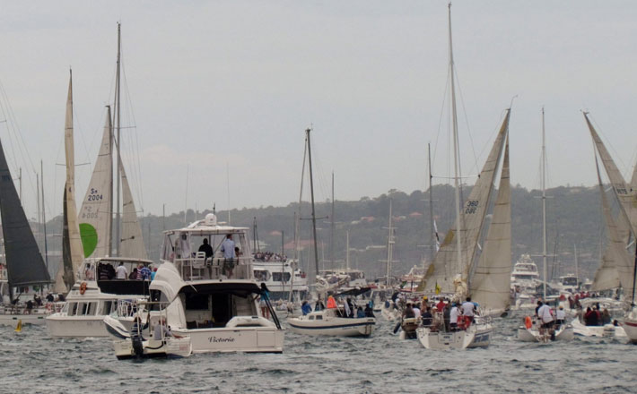 Sydney to Hobart – yacht racing and the spectator fleet