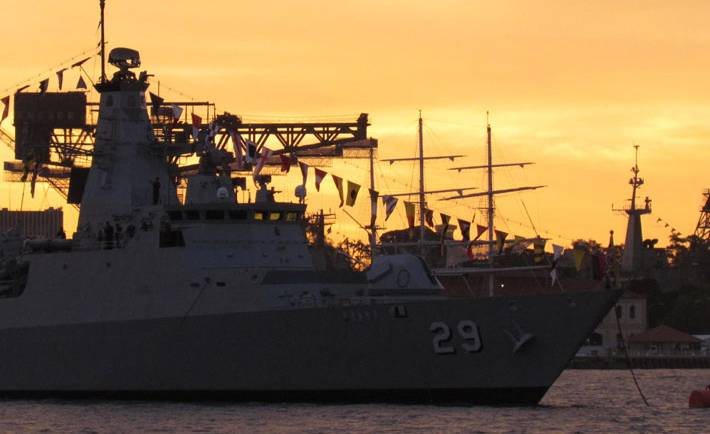 Navy Fleet review Spectacular