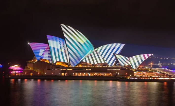Vivid Sydney Starts tonight