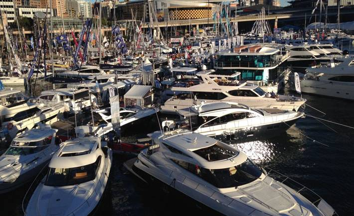 Sydney International Boatshow – yachts and cruisers to dream