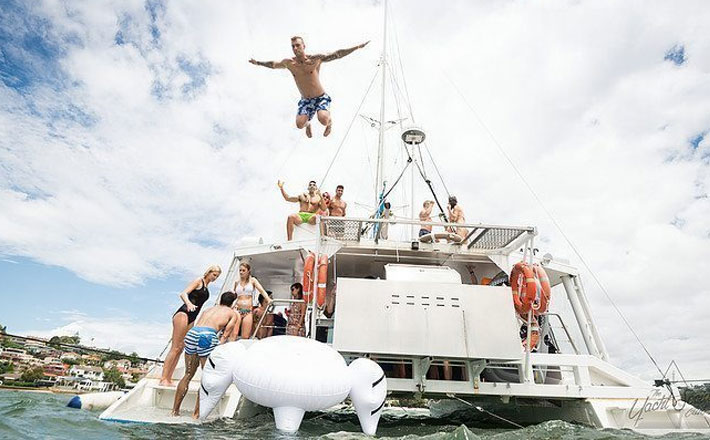 Fun in the sun with the Yacht Social Club