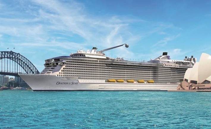 World's 4th largest ship to make Sydney Harbour home