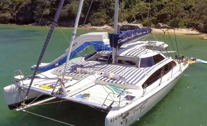Dreamtime Girl Catamaran Charter