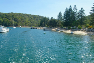 Boat hire Pittwater The Basin