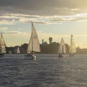 East Coast Sailing Hire Sunset Catamaran