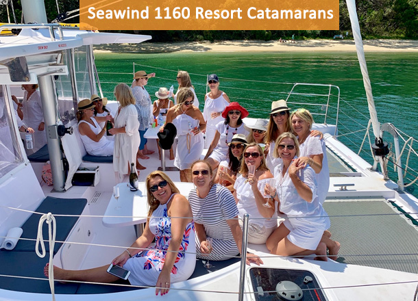 Seawind 1160 Resort Catamaran Eastcoast Sailing