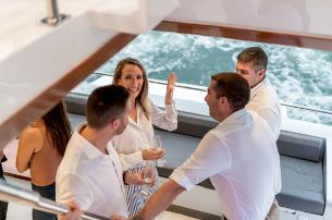 Party on Catamaran Eastcoast Sailing