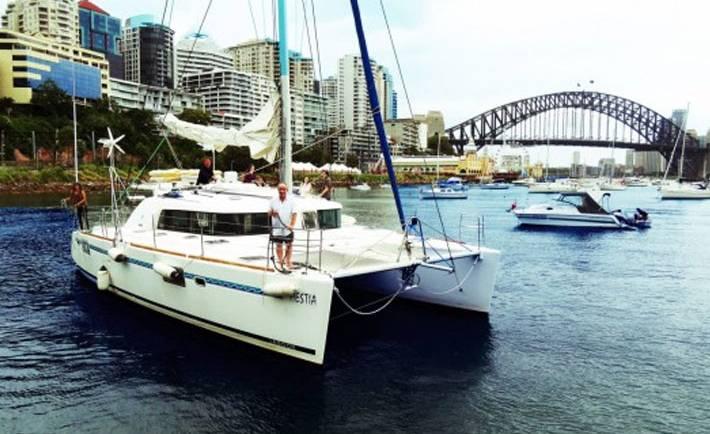 Hestia Catamaran Hire
