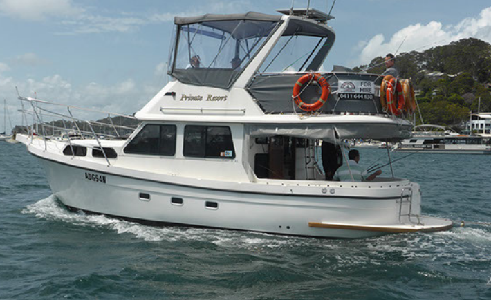 Private Resort Boat Charter Pittwater