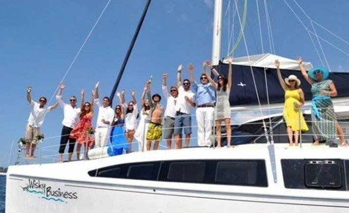 Wisky Business Catamaran Charter