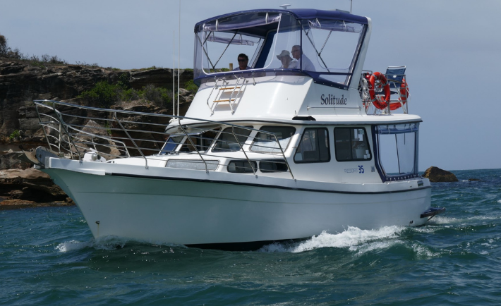 Solitude Boat Charter Pittwater