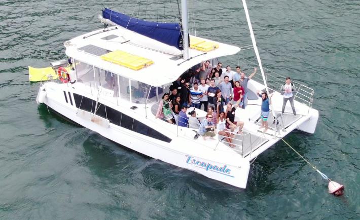 Escapade Resort Party Boat Catamaran Hire