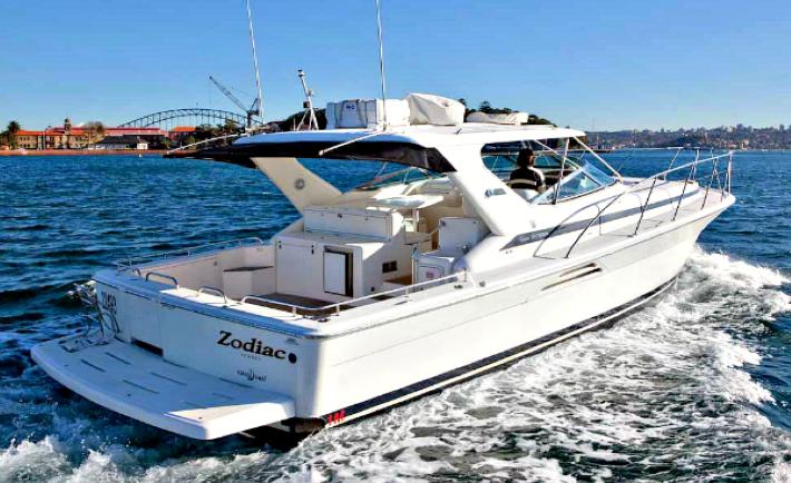 Zodiac Boat Charter