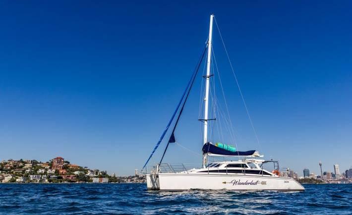 Wanderlust Catamaran Charter