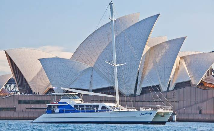 Aussie Magic Boat Charter