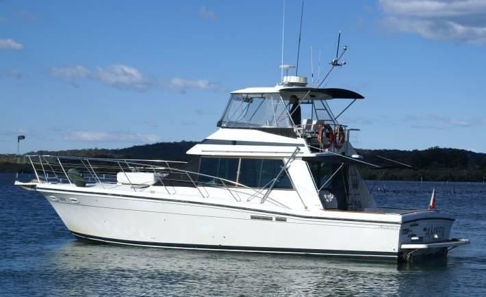 Amber Charter Boat