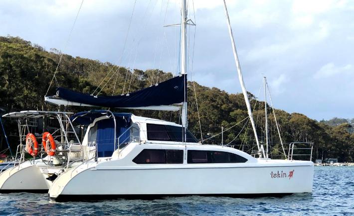 Tekin Pittwater Catamaran Charter
