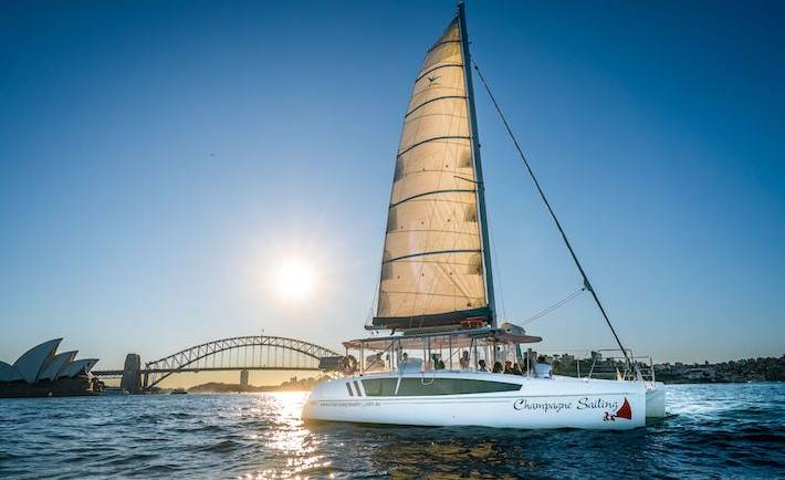 Champagne Sailing Resort Party Boat