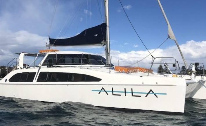 Alila Catamaran Charter